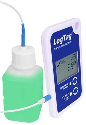 LogTag with Glycol vial